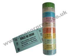 BINGO 90 DRAW ROLL TICKETS - 1 PACKET